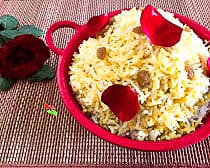 indian saffron rice recipe