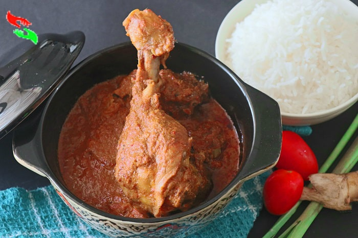red curry paste chicken