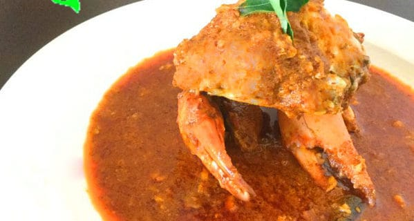 sri lankan curry crab