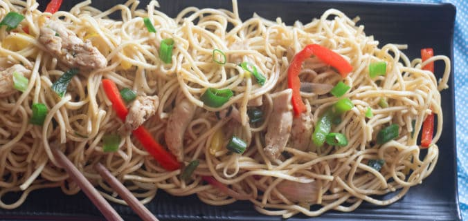 chicken chow mein recipe restaurant style