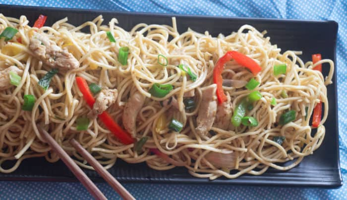 chicken chow mein recipe restaurant style very easy simple