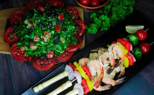 easy grilled shrimp skewers recipe