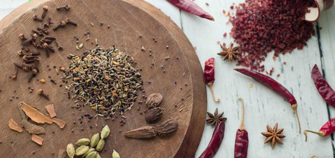 garam masala ingredients quantity