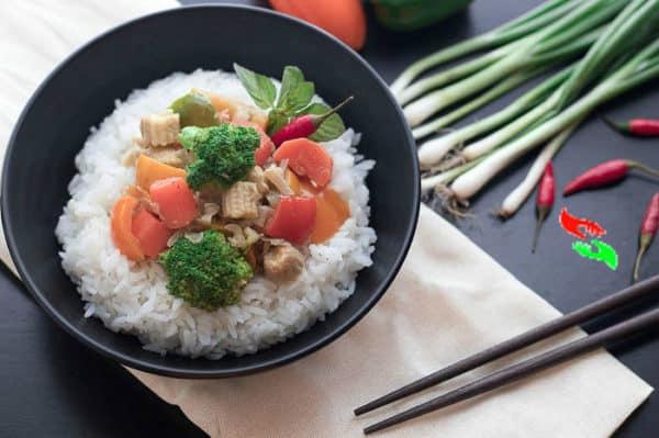 thai green curry recipe vegetarian