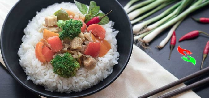 thai green curry recipe vegetarian