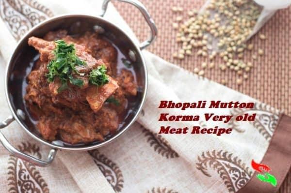 bhopali mutton korma