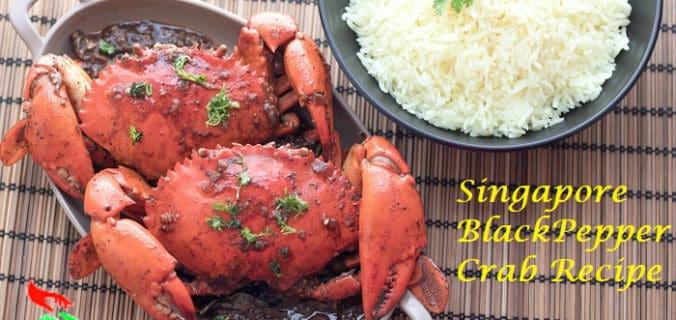 black pepper crab singapore restaurant