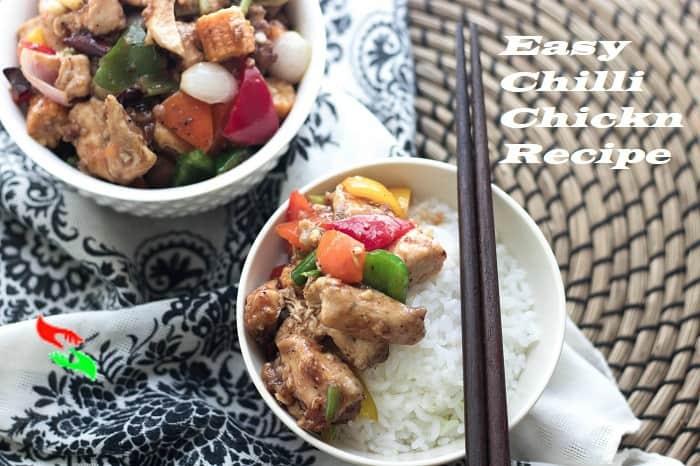 easy chilli chicken recipe